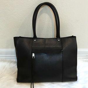 Rebecca Minkoff Black Leather Shoulder Bag